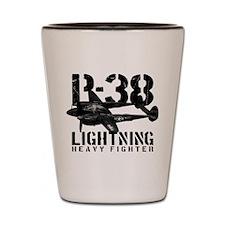 P-38 Lightning Shot Glass