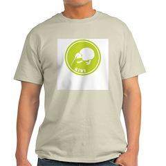 Kiwi Ash Grey T-Shirt