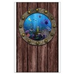 Underwater Love Porthole Large Poster