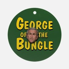 George of the Bungle Ornament (Round)