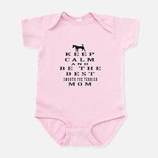 Keep Calm Smooth Fox Terrier Designs Infant Bodysu