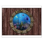 Underwater Love Porthole Small Poster