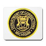 Michigan Corrections Mousepad
