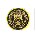 Michigan Corrections Postcards (Package of 8)