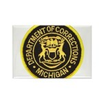 Michigan Corrections Rectangle Magnet (100 pack)
