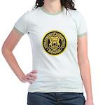 Michigan Corrections Jr. Ringer T-Shirt