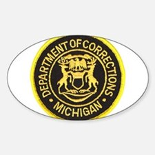Michigan Corrections Oval Decal