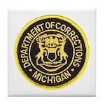 Michigan Corrections Tile Coaster