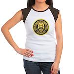 Michigan Corrections Women's Cap Sleeve T-Shirt