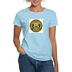 Michigan Corrections Women's Pink T-Shirt