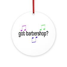 Got Barbershop Ornament (Round)