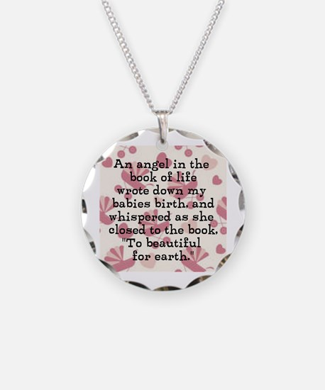 To Beautiful For Earth (Girl) Necklace
