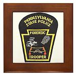 Pennsylvania C.S.I. Framed Tile
