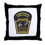 Pennsylvania C.S.I. Throw Pillow