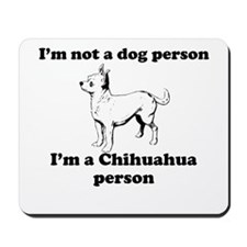 Chihuahua Person Mousepad