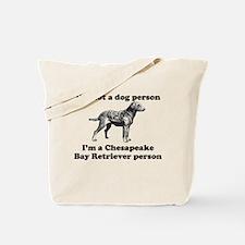 Chesapeake Bay Retriever Person Tote Bag