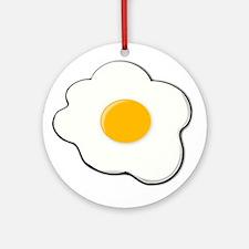 Fried Egg Ornament (Round)