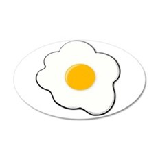 Fried Egg Wall Decal