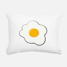 Fried Egg Rectangular Canvas Pillow