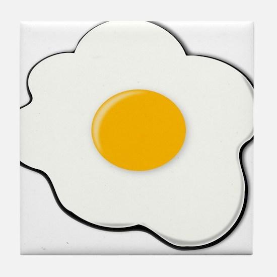 Fried Egg Tile Coaster
