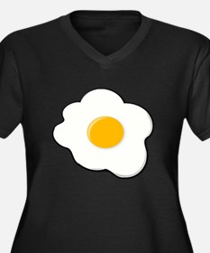 Fried Egg Plus Size T-Shirt