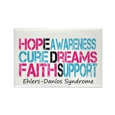 Ehlers Danlos Syndrome Hope Cure Awareness Rectang