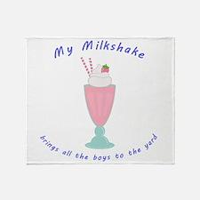 My Milkshake Throw Blanket
