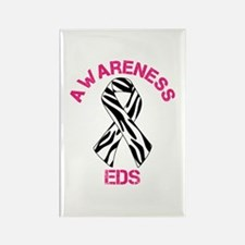 EDS Awareness Zebra Stripe Awareness Ribbon Rectan