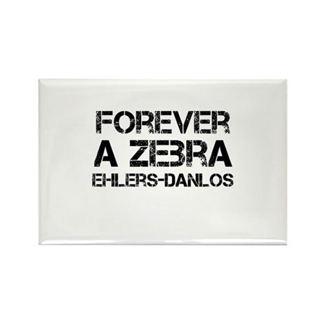 Ehlers Danlos Syndrome Forever a Zebra Rectangle M
