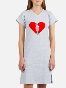Milkshake Heart Women's Nightshirt