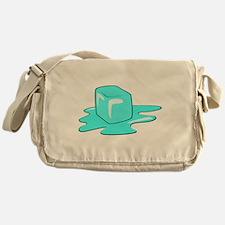 Melting Ice Cube Messenger Bag