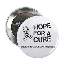 Ehlers Danlos Hope For A Cure Zebra Ribbon 2.25&qu