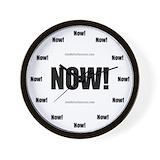 Now Wall Clocks