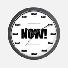Cool Now Wall Clock