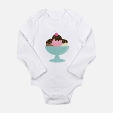 Ice Cream Sundae Body Suit