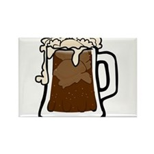 Root Beer Float Rectangle Magnet