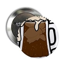 """Root Beer Float 2.25"""" Button (10 pack)"""