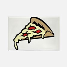 Slice of Pizza Rectangle Magnet (10 pack)