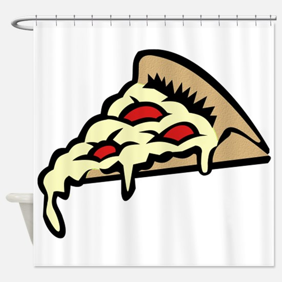 Slice of Pizza Shower Curtain