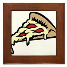 Slice of Pizza Framed Tile