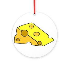 Swiss Cheese Ornament (Round)