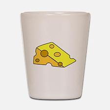 Swiss Cheese Shot Glass