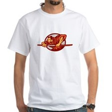 Samurai Warrior Drawing Sword Side T-Shirt