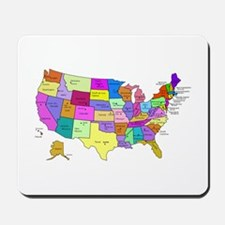 United States and Capital Cities Mousepad