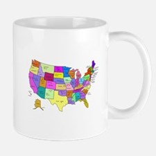 United States and Capital Cities Mug