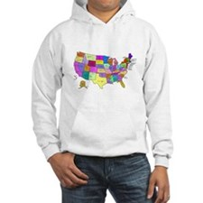 United States and Capital Cities Hoodie