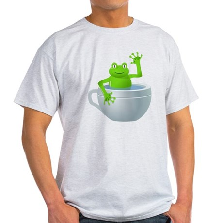 Cartoon Frog in a Cup T-Shirt