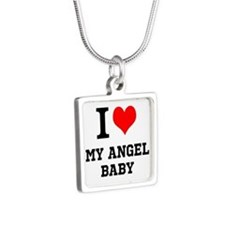 I Love My Angel Baby Necklaces