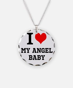 I Love My Angel Baby Necklace