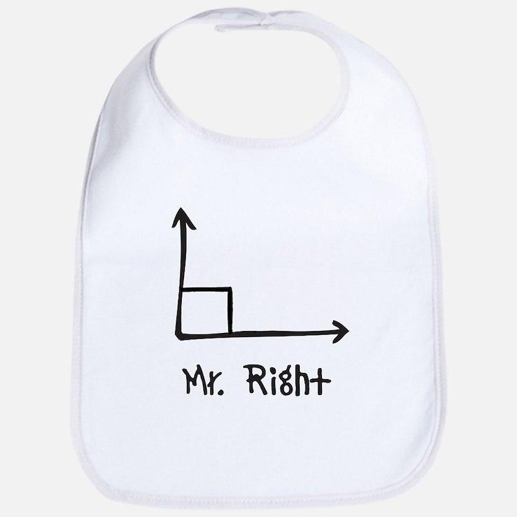 Mr Right Bib
